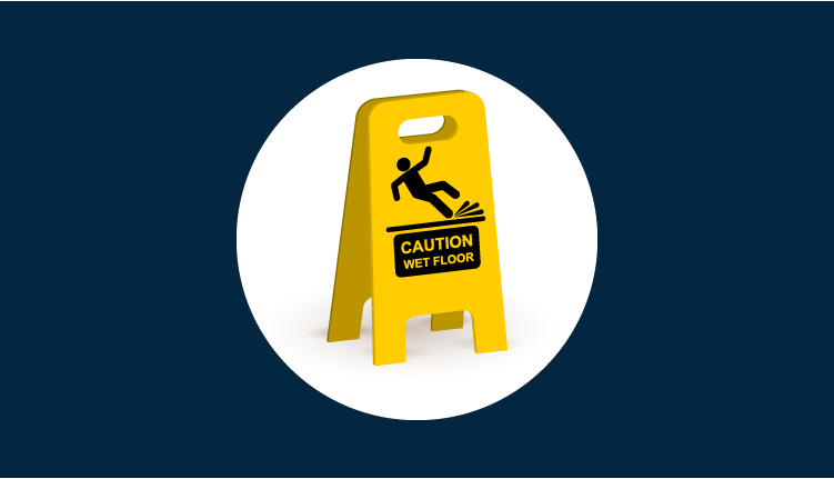 Slips, Trips and Falls Online Staff Training Course_course splash screen