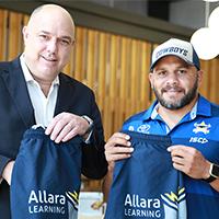 Allara Learning renew partnership with the Cowboys