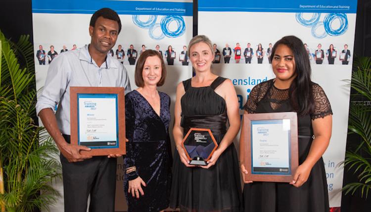 Dream, Believe, Achieve wins state training award