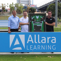 Allara Learning major sponsor of the Townsville Blackhawks